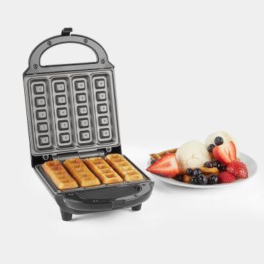 500W Non-Stick Waffle Maker