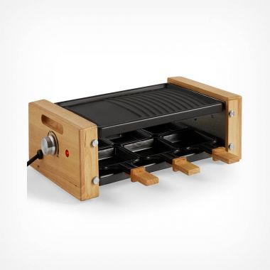 900W 6 Person Raclette Grill