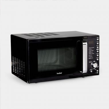 VonShef Black 23L Digital Microwave