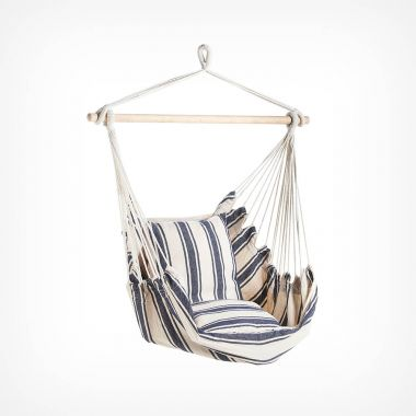 Striped Hanging Garden Chair