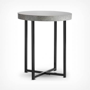Concrete-look Side Table