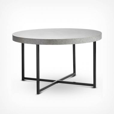 Concrete-Look Coffee Table