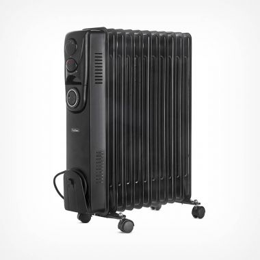 11 Fin 2500W Oil Filled Radiator - Black