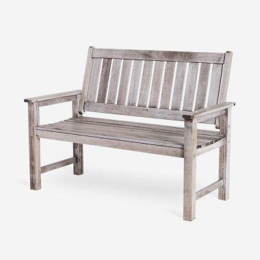 Grey Garden Bench