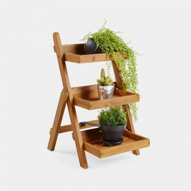 3 Tier Folding Plant Stand