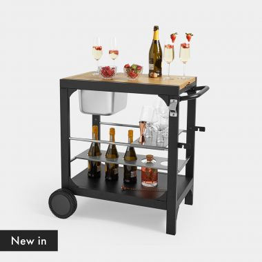 Outdoor Serving Trolley