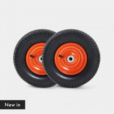 """13"""" Spare Pneumatic Wheels 2 Pack"""