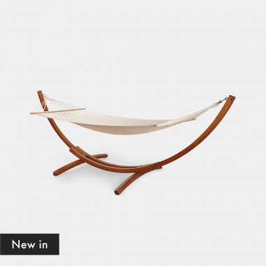 1 Person Hammock with Wooden Frame