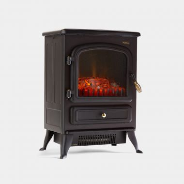 1850W Small Black Stove Heater