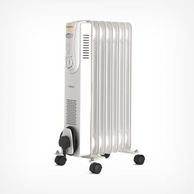 7 Fin 1500W Oil Filled Radiator - White