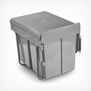 40L Pull-Out Cupboard Bin