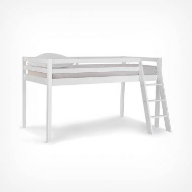 Pine Mid Sleeper Bed