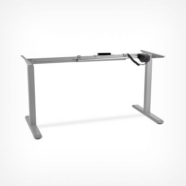 Grey Electronic Sit / Stand Desk Frame