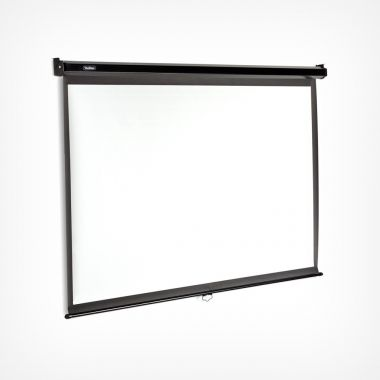 80-Inch Pull-Down Projector Screen