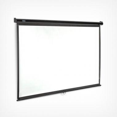 100-Inch Pull-Down Projector Screen
