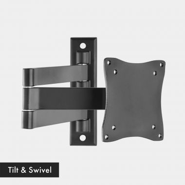 13-27 inch Tilt & Swivel TV bracket