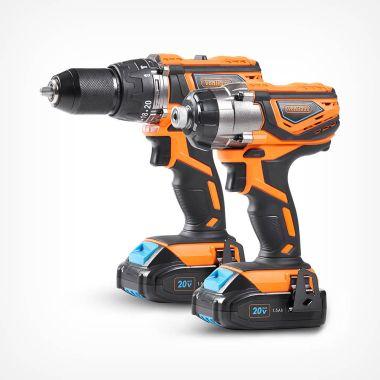 20v Max Impact Drill & Driver Kit