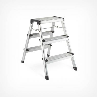 Dual Sided 3-Step Ladder