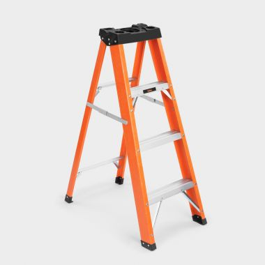 4 Tread Fibreglass Ladder