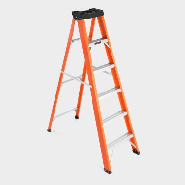 6 Tread Fibreglass Ladder
