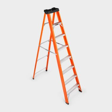 8 Tread Fibreglass Ladder
