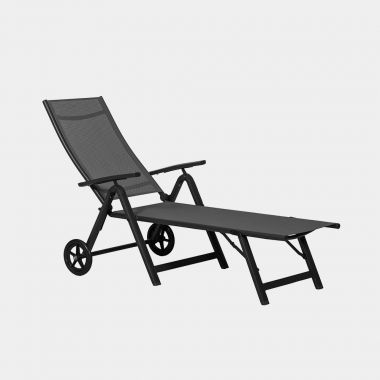 Textoline Lounger with Wheels