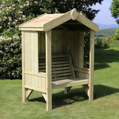 2 Seat Enclosed Cottage Arbour