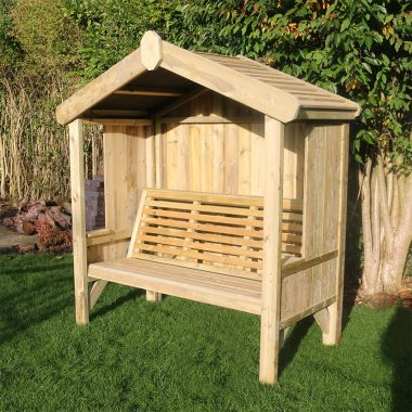 3 Seat Enclosed Cottage Arbour