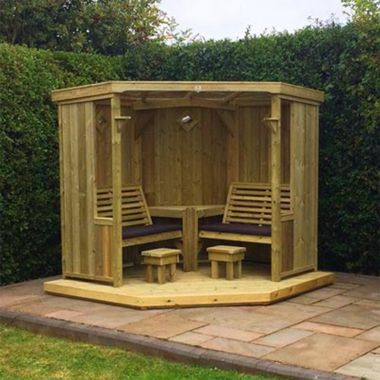 Garden Room with Double Bench