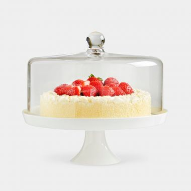 Ceramic Cake Stand with Lid