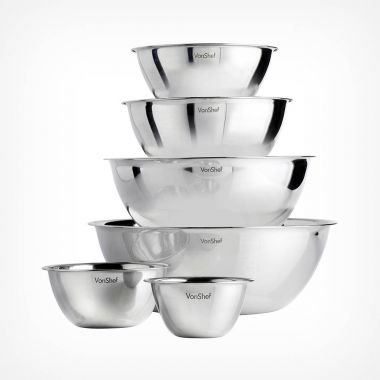 6 Piece Mixing Bowl Set