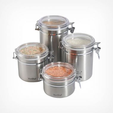 Set of 4 Storage Canisters