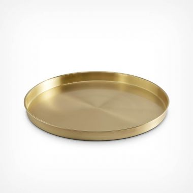 Brushed Gold Drinks Tray
