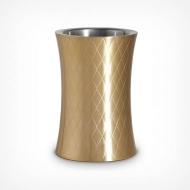 Etched Gold Wine Cooler
