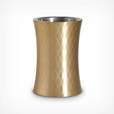 Etched Gold Wine Cooler