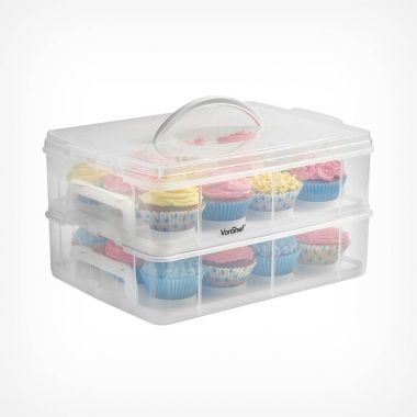 24 Cupcake Storage Carrier