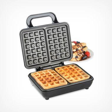 Dual Belgian Waffle Maker