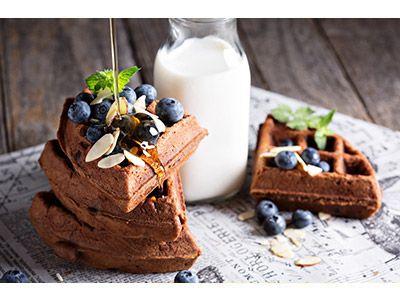 Make Waffle Day every day - Belgian Chocolate Waffle Recipe