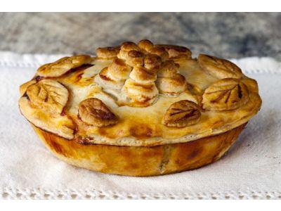 Mushroom Stroganoff Pie