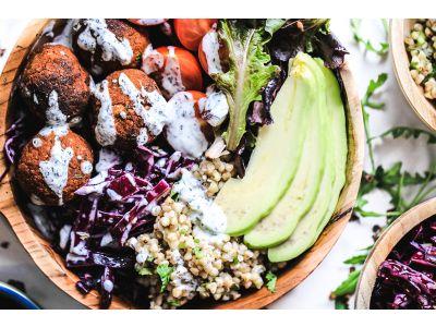 Recipe - Spicy Falafel Salad