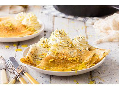 Make the zest of it - Poppyseed pancake recipe