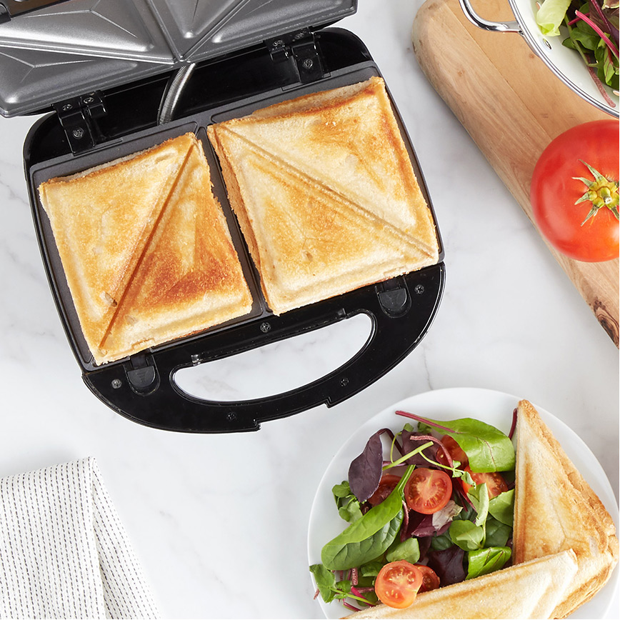 VonShef sandwich maker, waffle iron and grill